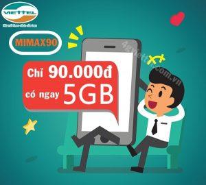 Lướt web vi vu ngay cả khi di chuyển ra ngoài với 1.2GB tốc độ cao từ gói 3G Mimax90 Viettel.