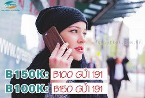 Cách đăng ký gói B100K và B150K Viettel ưu đãi thoại + data hấp dẫn