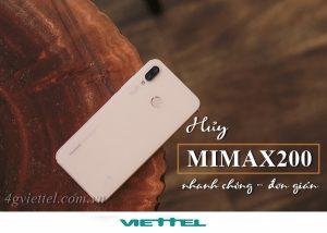 Hướng dẫn hủy gói MIMAX200 Viettel chỉ bằng 1 tin nhắn