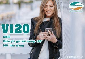 Hướng dẫn đăng ký gói V120 mạng Viettel nhận ưu đãi khủng