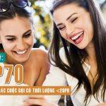 Hướng dẫn đăng ký gói MP70 mạng Viettel miễn phí gọi nội mạng