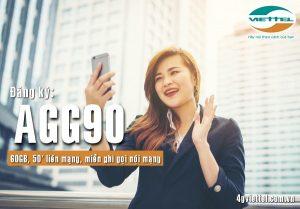 Đăng ký gói AGG90 mạng Viettel nhận ngay 60GB và phút thoại chỉ tốn 90K