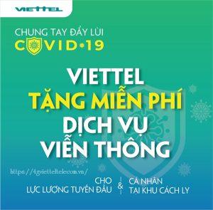 Viettel tặng 4G và miễn phí cước gọi cho lực lượng tuyến đầu chống Covid_19