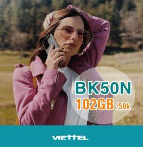Hướng dẫn đăng ký gói BKN50 mạng Viettel miễn phí gọi thoại và lướt web